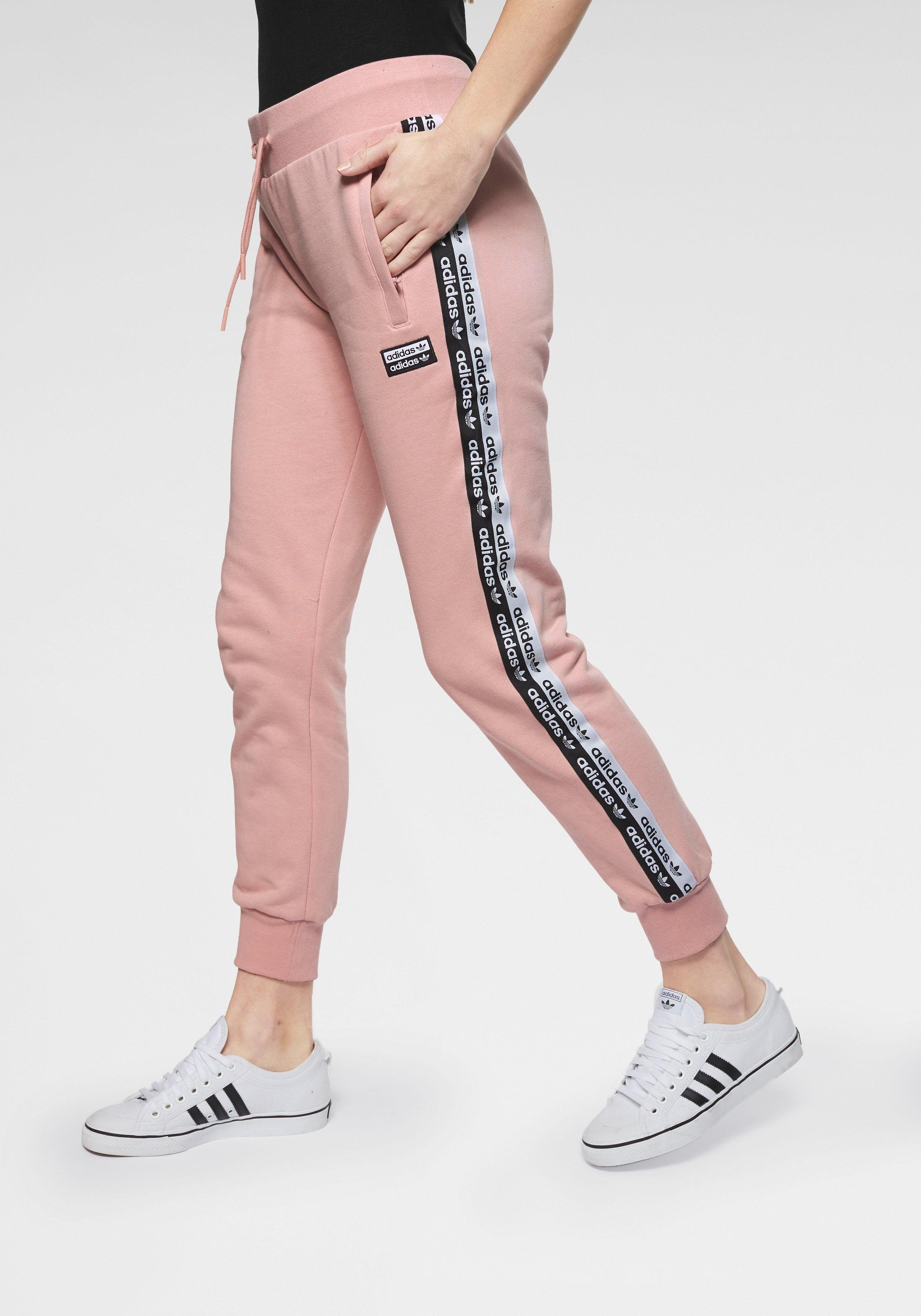 adidas originals jogginghose damen rosa