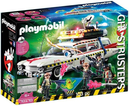 Playmobil® Konstruktions-Spielset »Ghostbusters™ Ecto-1A (70170)«, Ghostbusters™