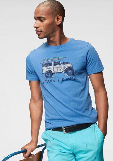 IZOD T-Shirt mit coolem Print