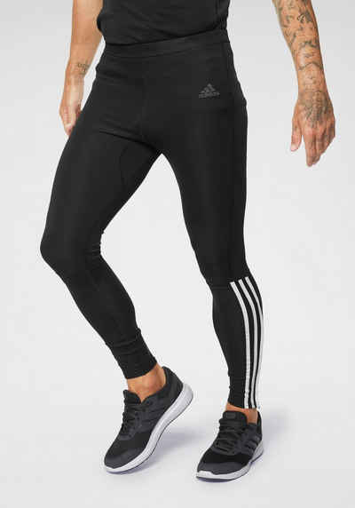 55fa3598437e43 adidas Performance Lauftights »RUN 3 STRIPES TIGHT M«