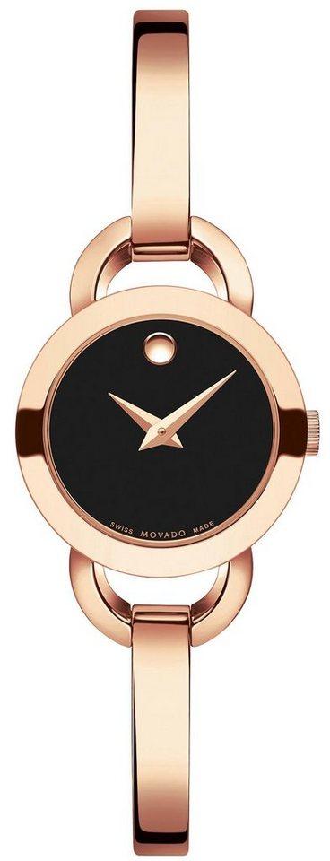 MOVADO Schweizer Uhr »RONDIRO, 607065« | Uhren > Schweizer Uhren | Goldfarben | MOVADO