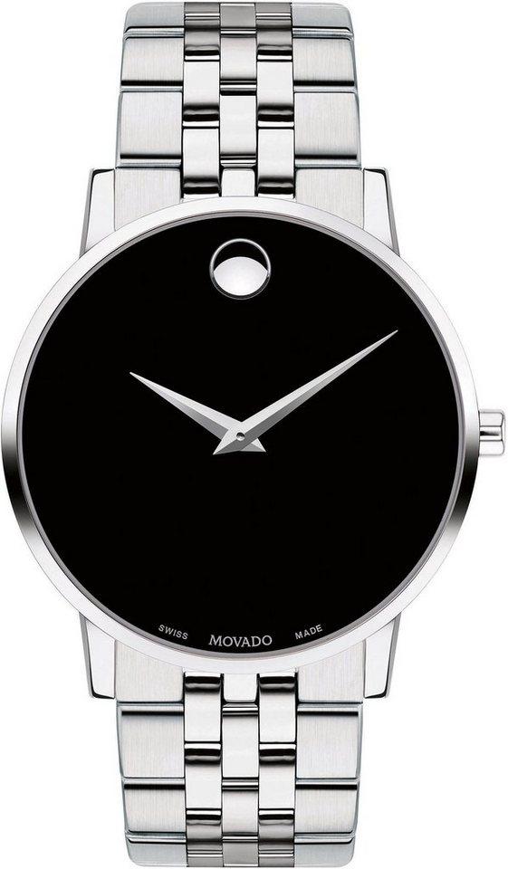 MOVADO Schweizer Uhr »MUSEUM, 607199«   Uhren > Schweizer Uhren   MOVADO