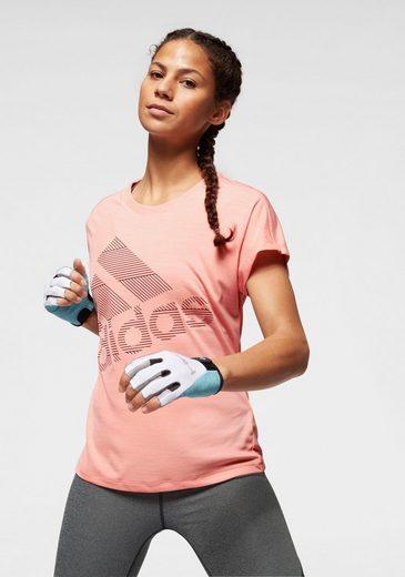 adidas Performance Funktionsshirt »SHORT SLEEVE BATCH OF SPORTS LOGO TEE«