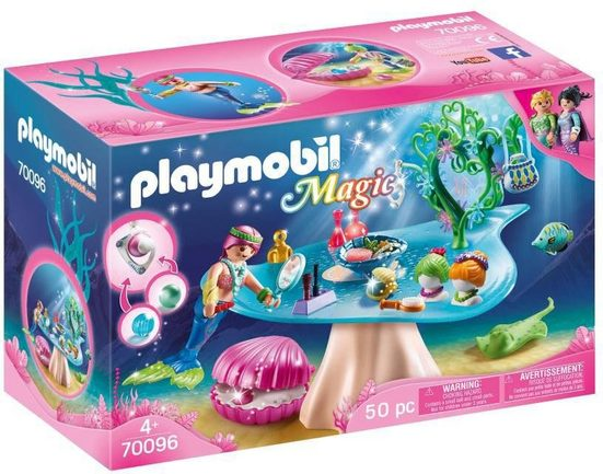 Playmobil® Konstruktions-Spielset »Beautysalon mit Perlenschatulle (70096), Magic«, Made in Germany