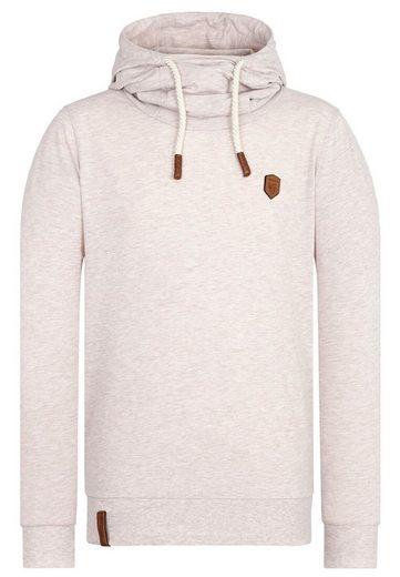naketano Kapuzensweatshirt »Diese Nüsse«