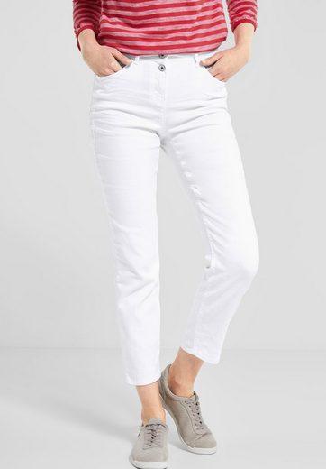 Cecil 7/8-Jeans mit Doppelknopf