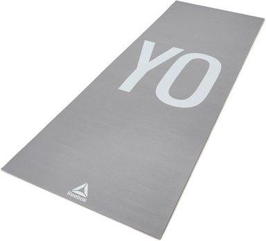 """Reebok Yogamatte »Double Sided 4mm Yoga Mat - """" YO-GA""""«"""