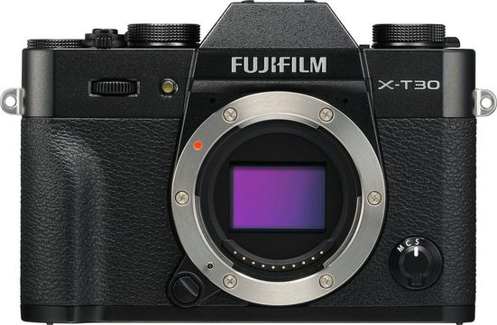 FUJIFILM »X-T30« Systemkamera-Body (26,1 MP, Bluetooth, WLAN (Wi-Fi)
