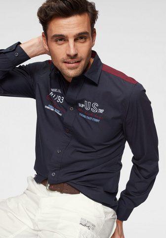 RHODE ISLAND Marškiniai ilgomis rankovėmis
