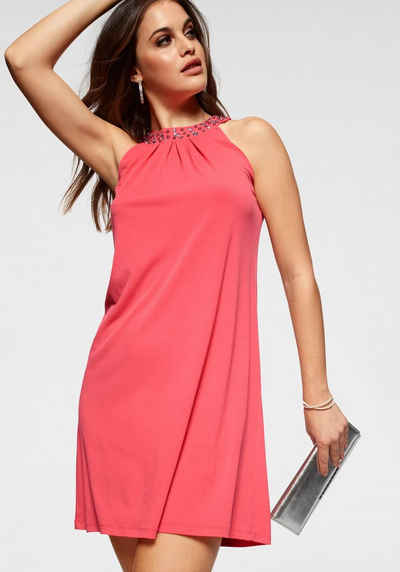 b59a3a337378cd Melrose A-Linien-Kleid mit Schmucksteinen