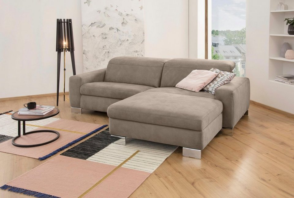 ada trendline ecksofa mit relaxfunktion wahlweise inkl. Black Bedroom Furniture Sets. Home Design Ideas
