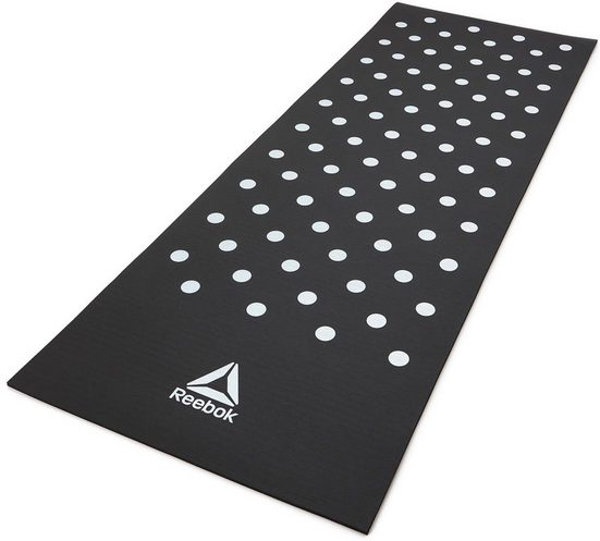 Reebok Trainingsmatte »Training Mat - Spots - Black«