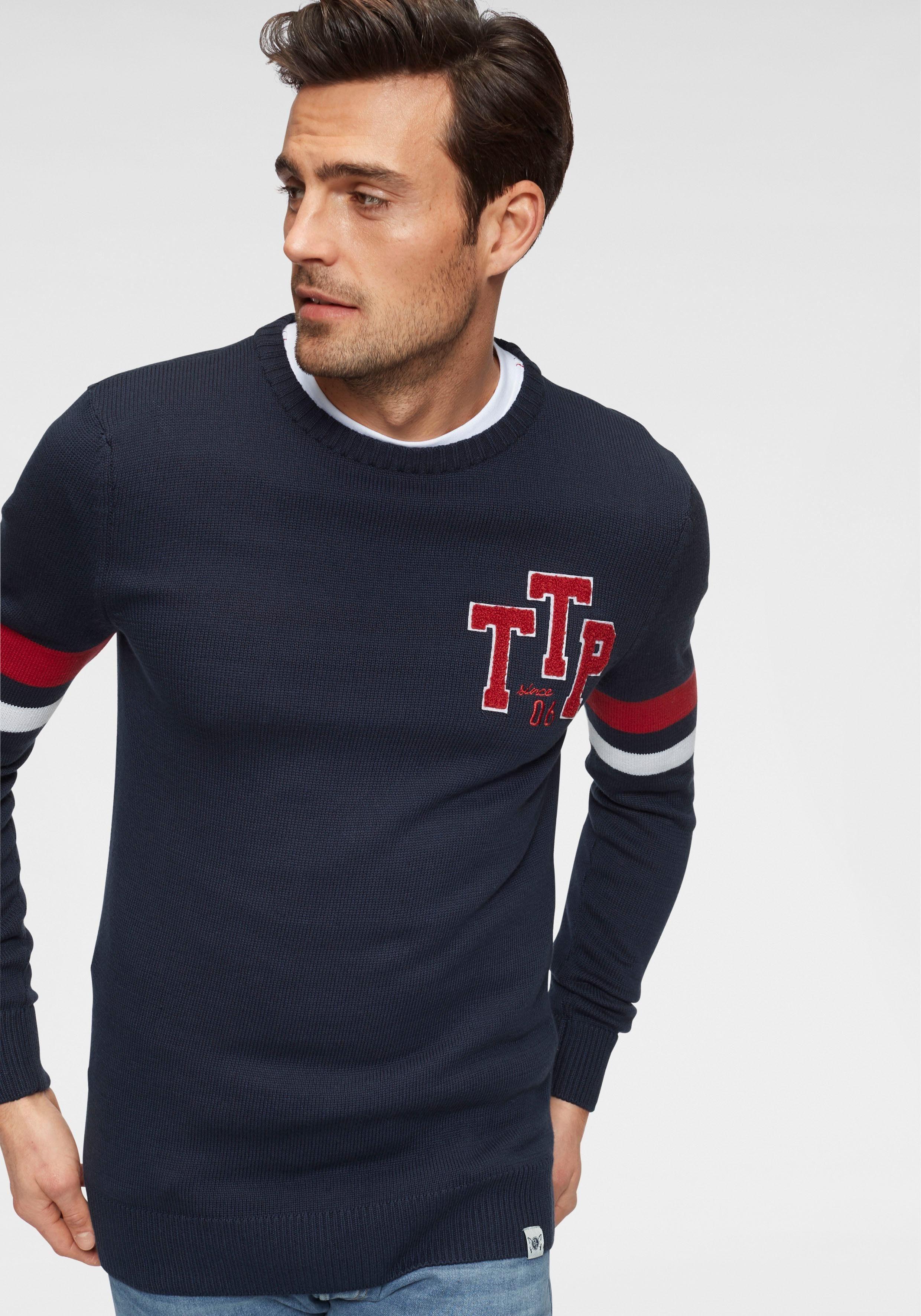 Tom Tailor Polo Team Rundhalspullover Herren Bestellung