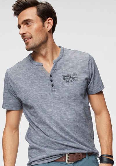 12ba44577d7376 T-Shirt mit Knopfleiste für Herren kaufen » Henleyshirt | OTTO