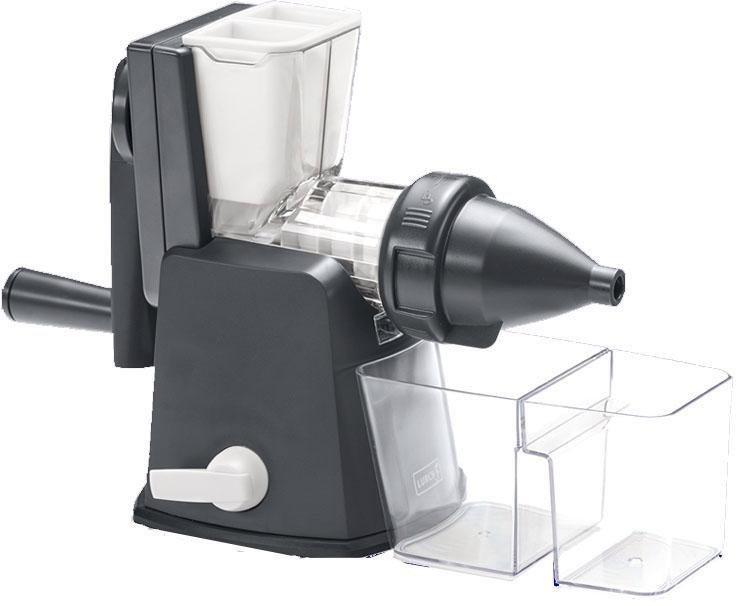 Lurch Entsafter Slow Juicer, Kunststoff/Edelstahl | Küche und Esszimmer > Küchengeräte > Entsafter | Grau | Lurch