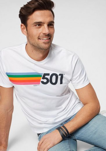 Levi's® T-Shirt mit Frontdruck