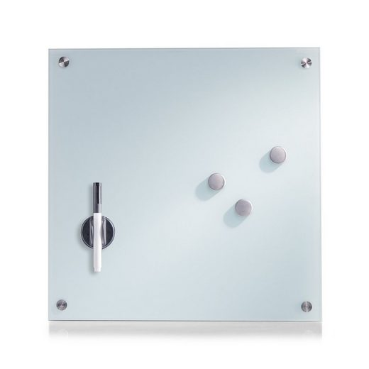HTI-Living Pinnwand »Memoboard Glas quadratisch«, Memoboard