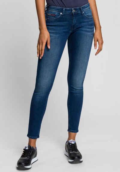 Tommy Jeans Skinny-fit-Jeans »SOPHIE LR SKNY« mit Tommy Jeans Logo-Badge & Stickereien