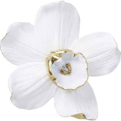 KARE Dekoobjekt »Wandschmuck Orchid Weiß 25cm«