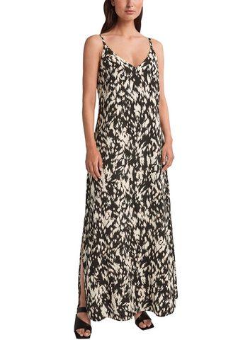 Comma Ilga suknelė su Allovermuster iš lengv...