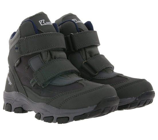 Kastinger »Kastinger Snow Run Winter-Stiefel rutschfeste Kinder Klett-Boots Outdoor-Stiefel Grau« Winterstiefel