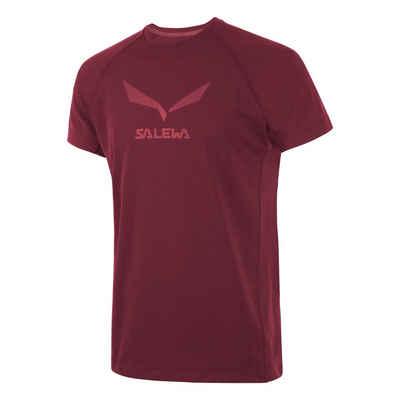 Salewa T-Shirt »Salewa - Logo Dry Tee (T-Shirt Herren)«