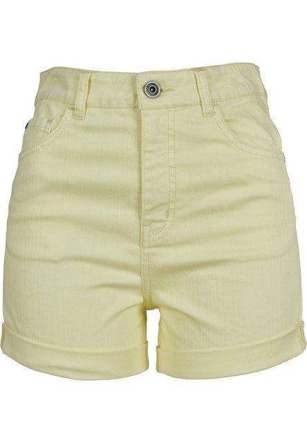 URBAN CLASSICS 5-Pocket-Hose »Ladies Highwaist Stretch Twill Shorts«   Bekleidung > Hosen > 5-Pocket-Hosen   URBAN CLASSICS