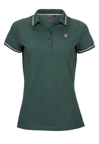 Elkline T-Shirt »Picky« Basic Polo mit Streifendetails
