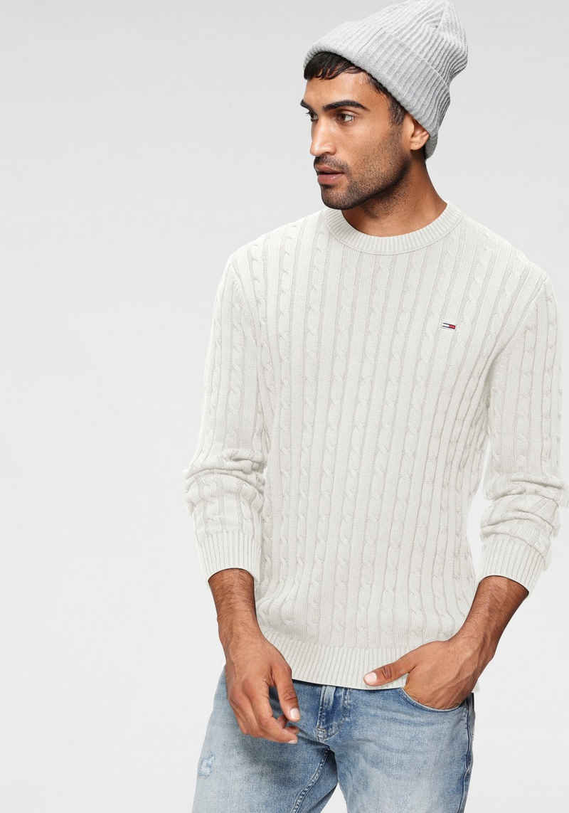 Tommy Jeans Strickpullover »TJM ESSENTIAL CABLE SWEATER«