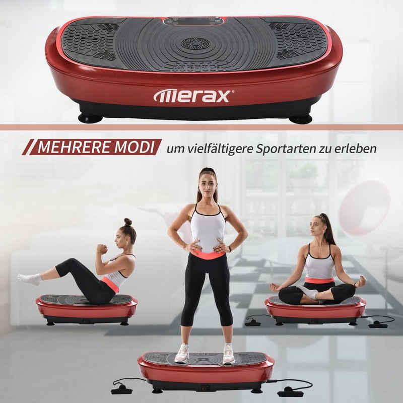 Merax Vibrationsplatte »Fitness Vibrationstrainer«, 200 W, 180 Intensitätsstufen