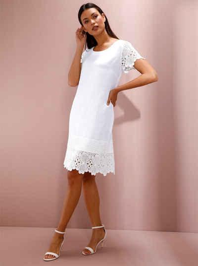 Kurz kleid weiß spitze 20 Spektakulär