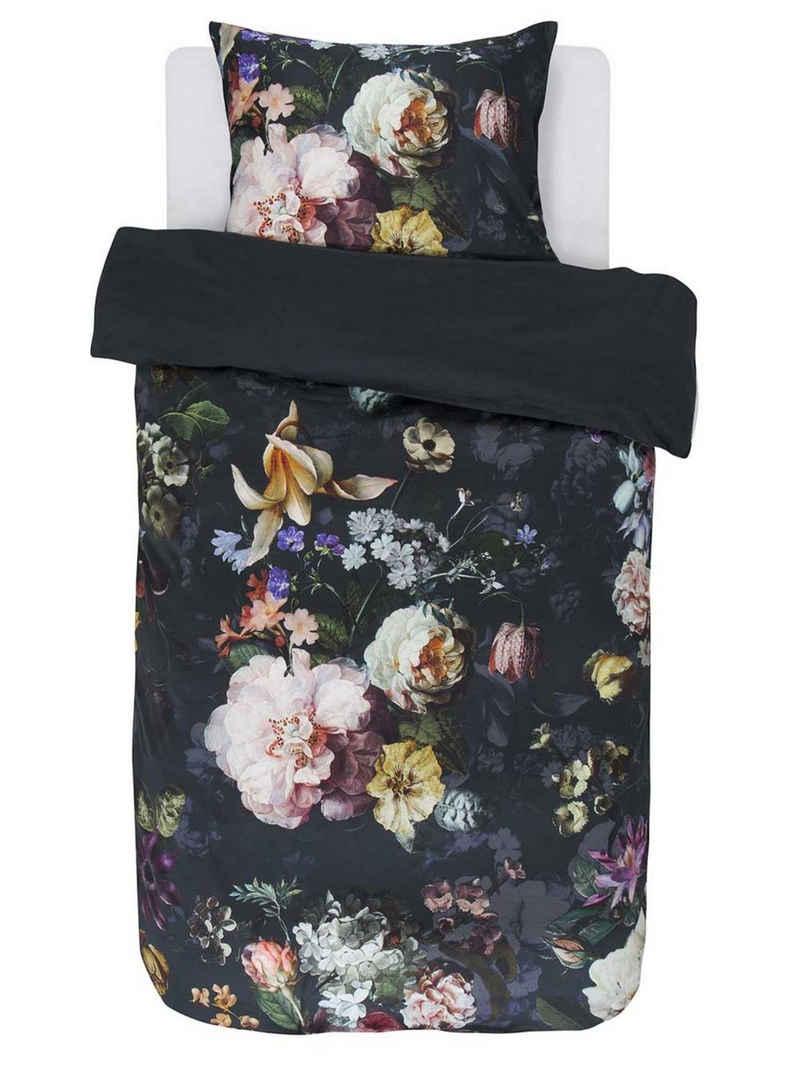 Bettwäsche »Fleur«, Essenza, mit floralem Muster