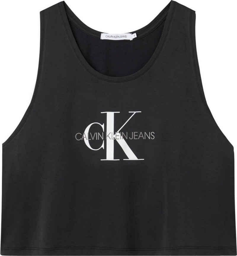 Calvin Klein Jeans Tanktop »MONOGRAM MODAL TANK TOP« mit CK Monogramm Logo & Schriftzug