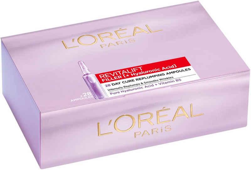 L'ORÉAL PARIS Gesichtsserum »Revitalift Filler Hyaluron-Shots 4-Wochen-Kur« Packung, 4-Wochen-Kur