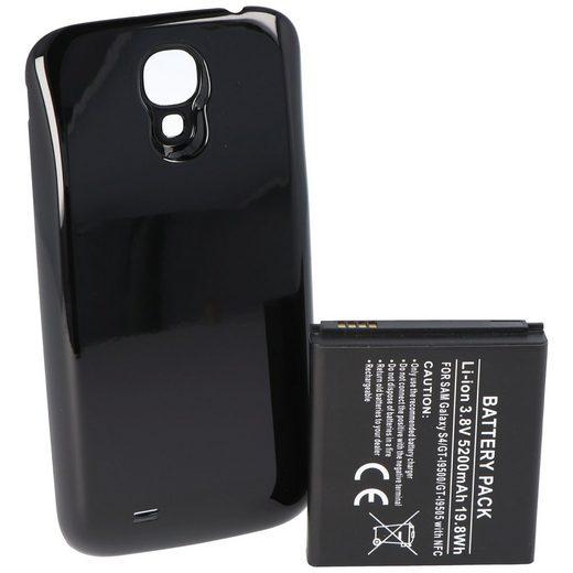 AccuCell »Samsung Galaxy S4 Hochleistungs-Akku mit 5200mAh N« Smartphone-Akku