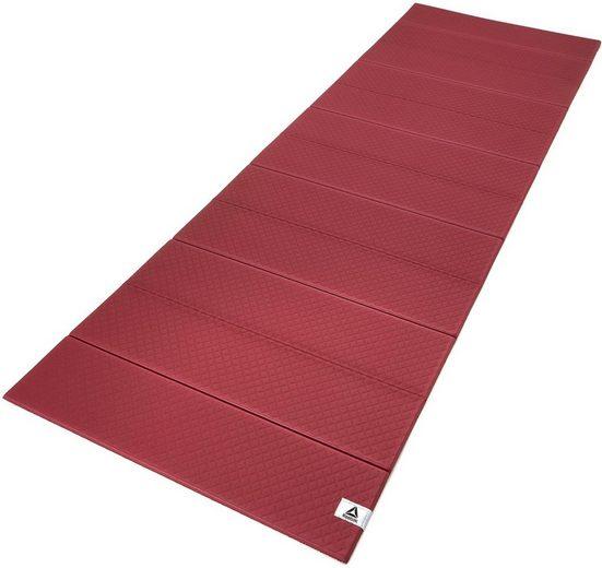 Reebok Yogamatte »Folded 6mm Yoga Mat«