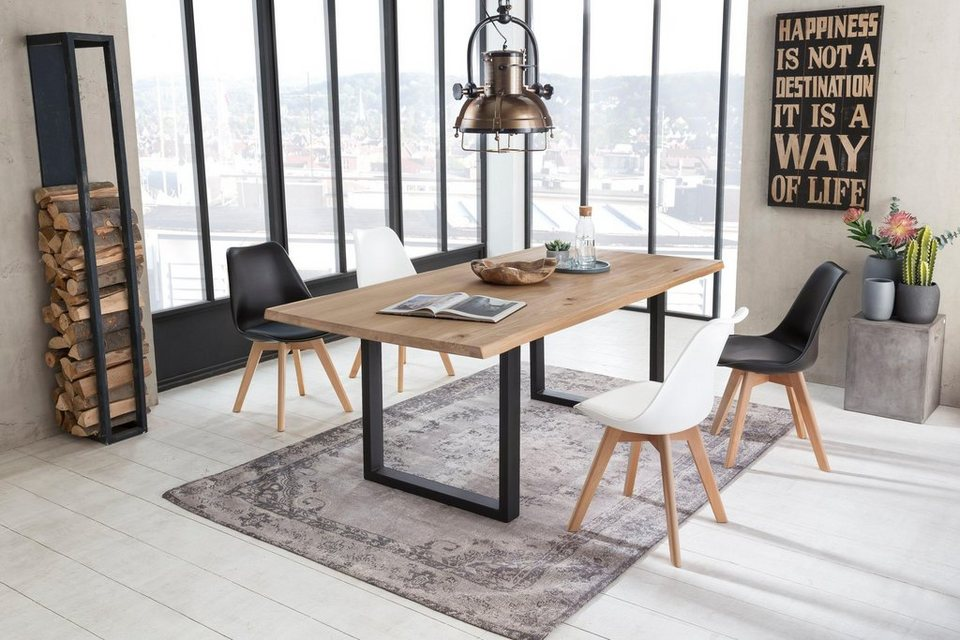 sit esstisch tops tables mit tischplatte aus wildeiche. Black Bedroom Furniture Sets. Home Design Ideas