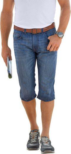 Classic Jeans-Bermudas aus Baumwolle