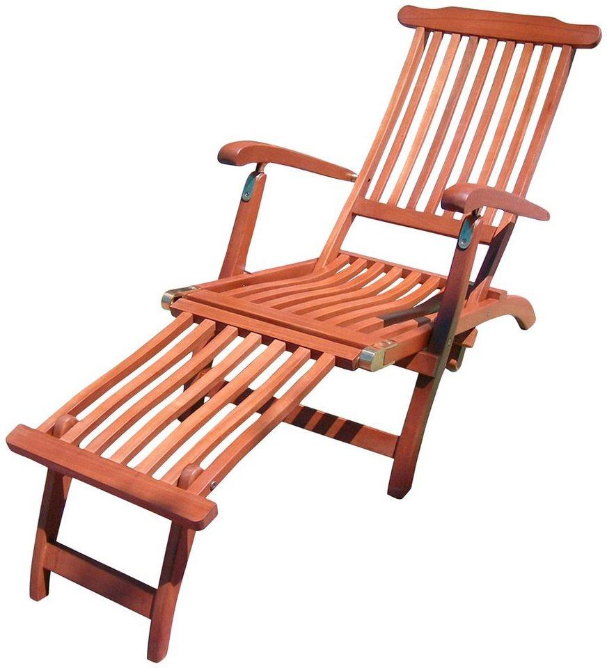 GARDEN PLEASURE Liegestuhl Phoenix , Eukalyptusholz, verstellbar online kaufen OTTO ~ 18031819_Liegestuhl Mehrfach Verstellbar