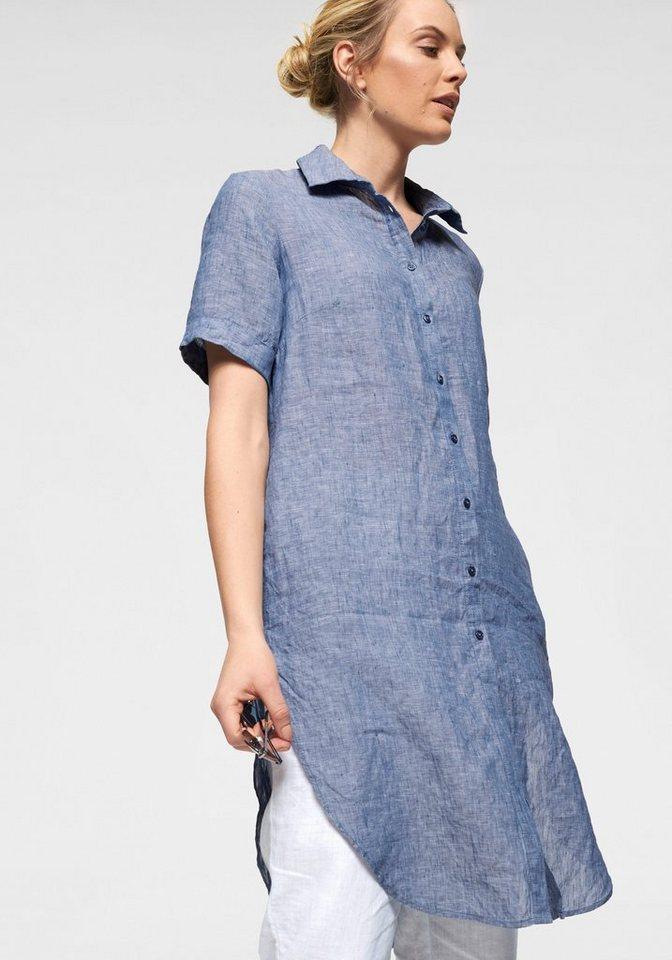 großer Lagerverkauf heiß seeling original verschiedene Stile Clarina Hemdblusenkleid aus reiner Leinenqualität   OTTO