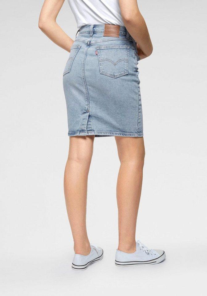 levi's® -  Jeansrock »Core skirt« Klassisch geschnittener Jeansrock