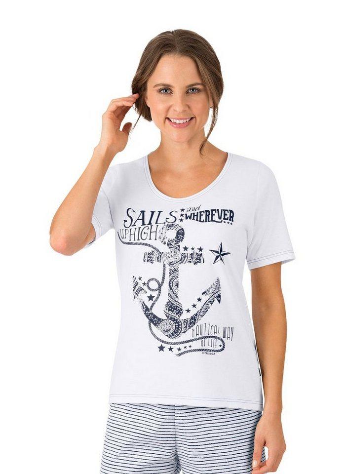 c99b02a0fcf341 TRIGEMA T-Shirt Maritim online kaufen