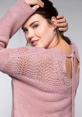 SHEEGO Megztinis su V formos iškirpte