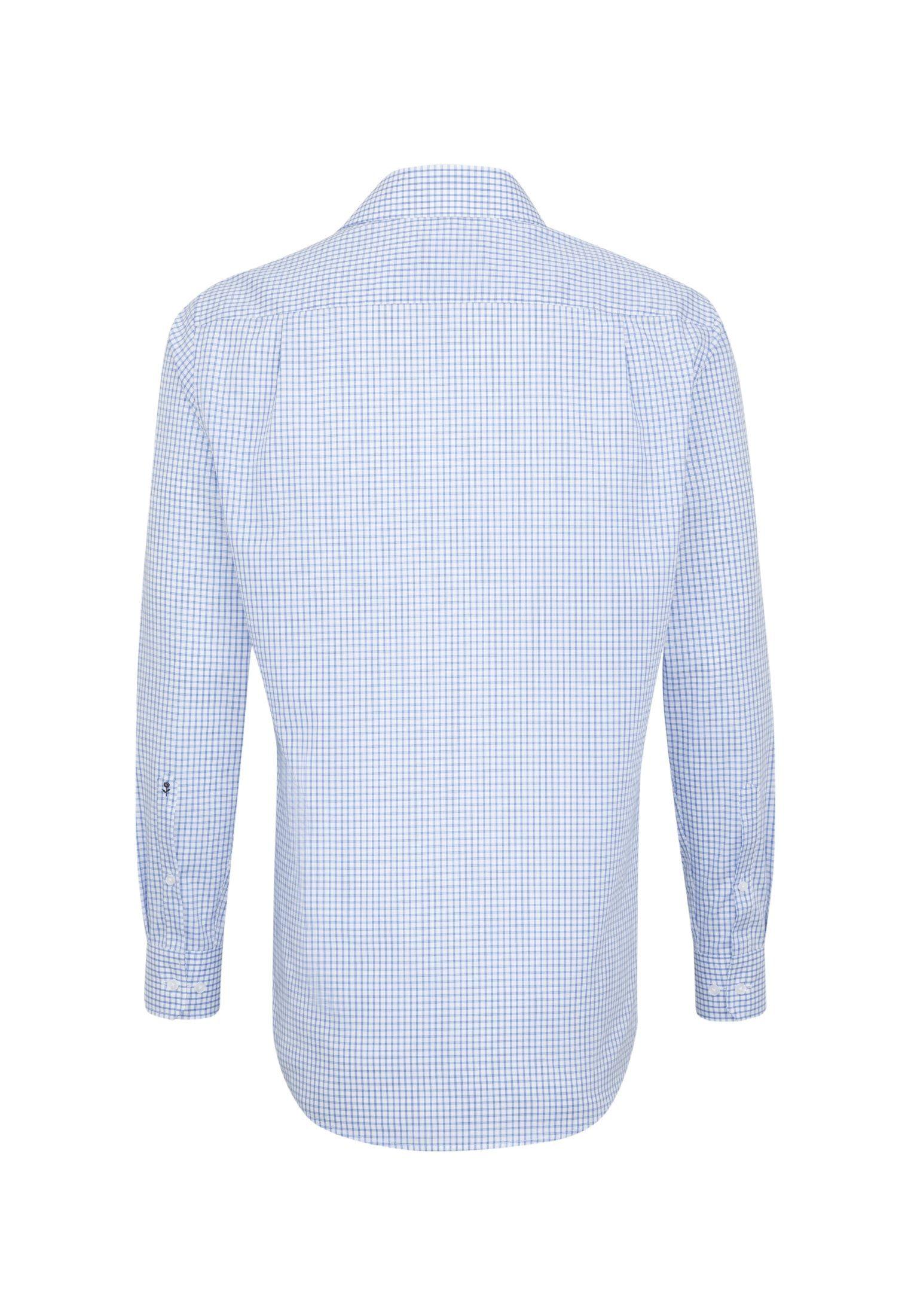 Seidensticker Kentkragen »modern« Online Karo Modern Businesshemd Langarm Kaufen IW2DH9EY