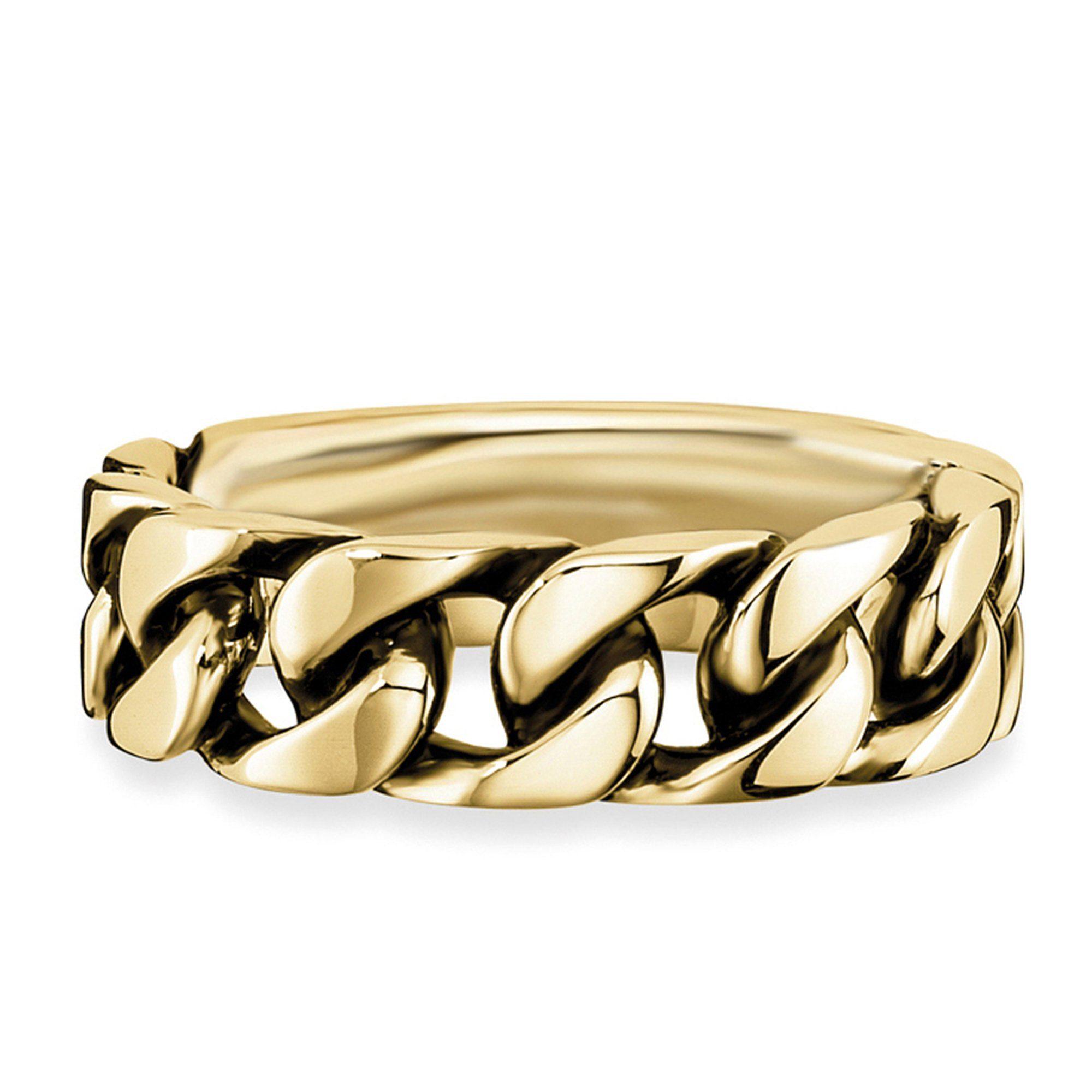 Cai Ring »925/- Sterling Silber vergoldet geschwärzt«