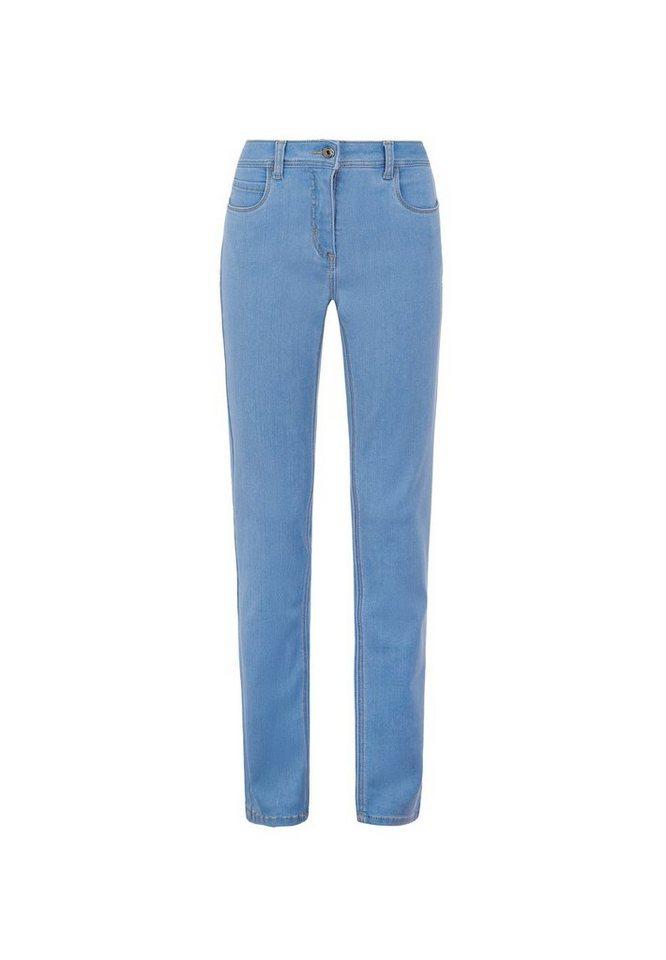 MILLION-X Röhrenjeans »Victoria Powerstretch Ina«   Bekleidung > Jeans > Röhrenjeans   Blau   MILLION-X