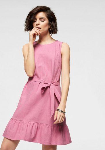 Vero Moda Sommerkleid »VMANNA MILO« aus Leinen und Viskose