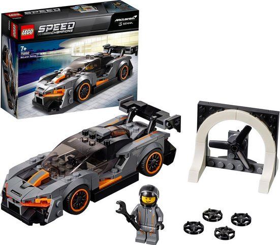 LEGO® Konstruktionsspielsteine »McLaren Senna (75892), LEGO® Speed Champions«, (219 St)