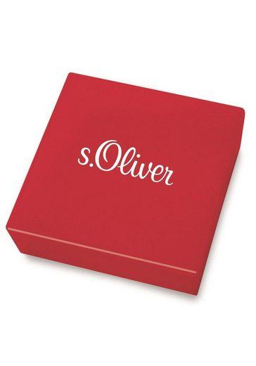 s.Oliver Lederarmband »Anker  2024252«