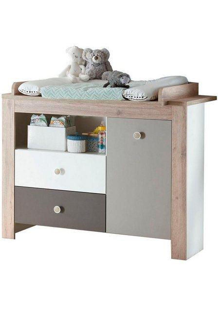 Babyzimmer - Babymöbel Set »Madrid«, (2 tlg) Bett Wickelkommode  - Onlineshop OTTO